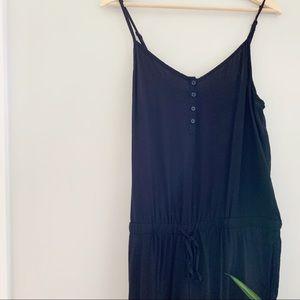 old navy | black jumpsuit